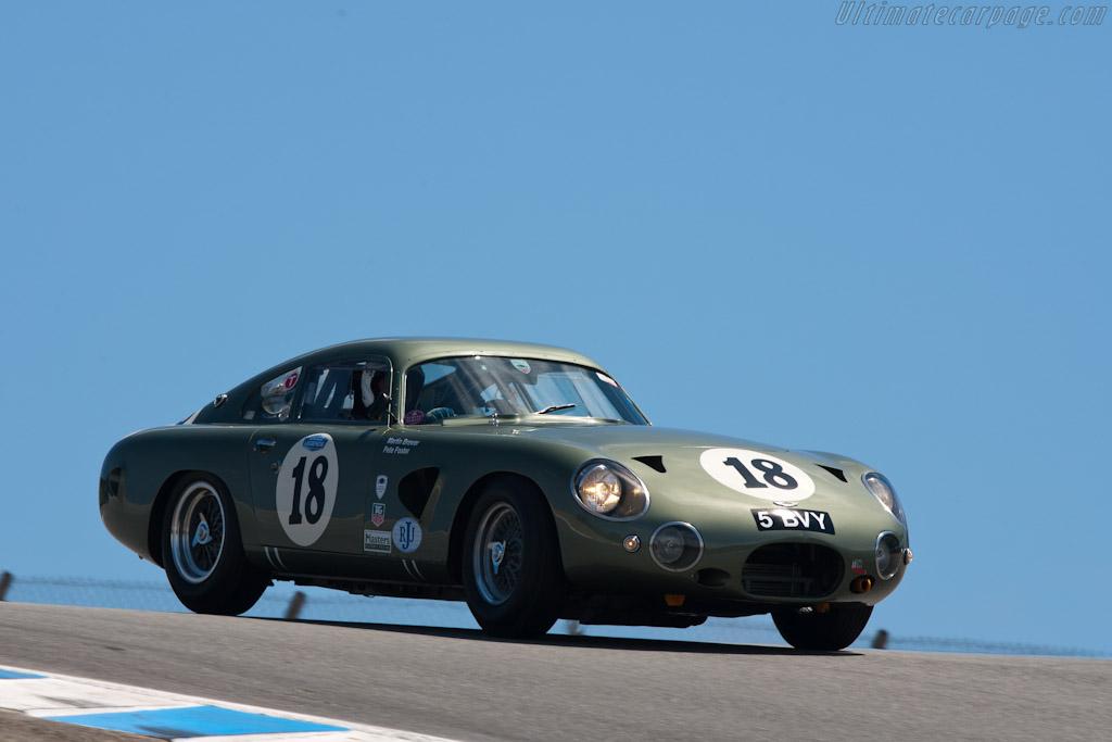 Aston Martin DB4 GT   - 2011 Monterey Motorsports Reunion