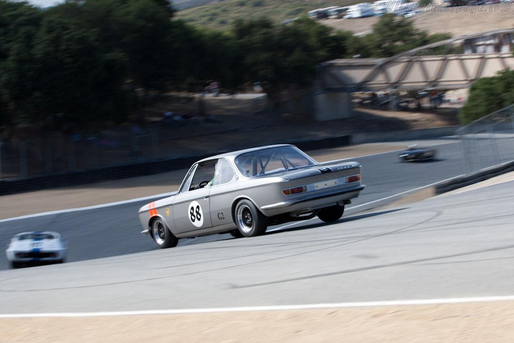 BMW 2000CS    - 2011 Monterey Motorsports Reunion