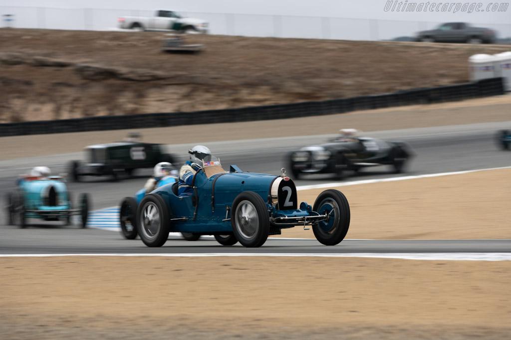 Bugatti Type 35B    - 2011 Monterey Motorsports Reunion