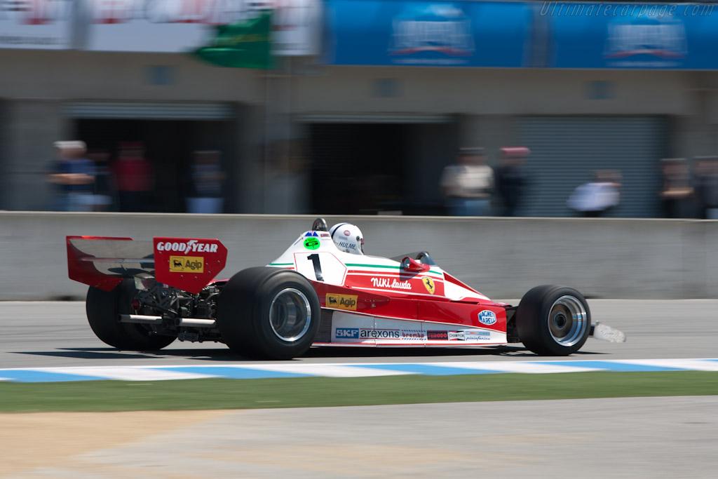Ferrari 312 T2 - Chassis: 026   - 2011 Monterey Motorsports Reunion