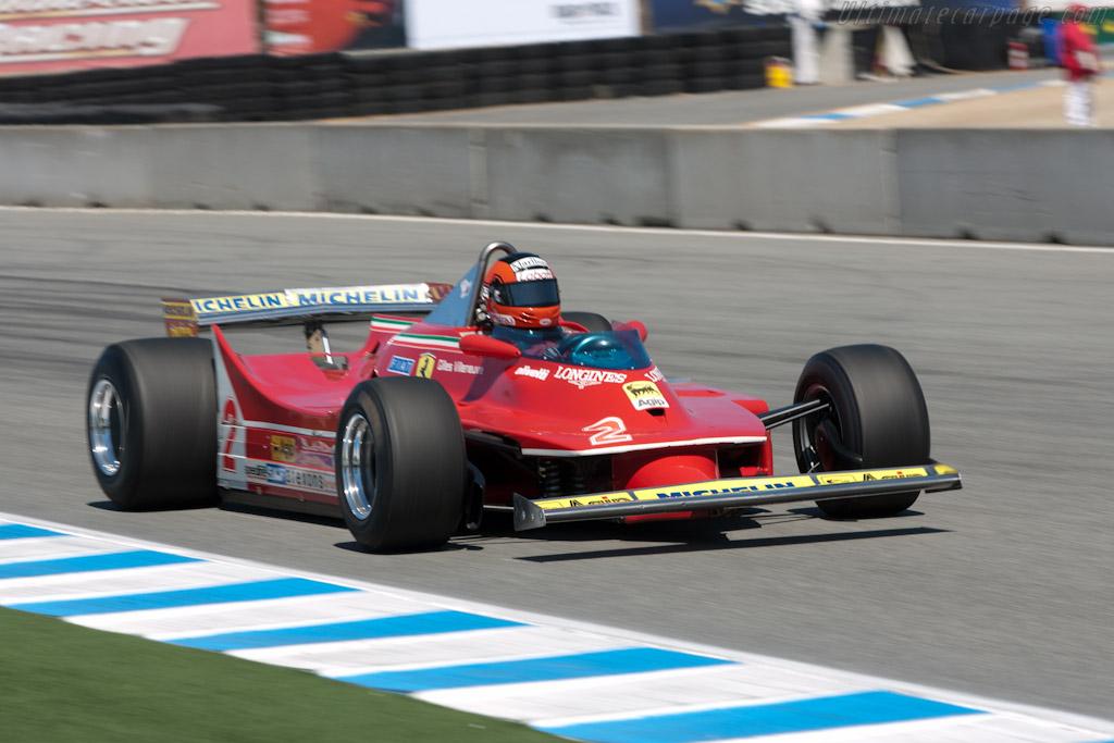 Ferrari 312 T5 - Chassis: 046 - Driver: Bud Moeller  - 2011 Monterey Motorsports Reunion