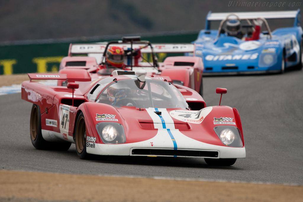 Ferrari 512 M - Chassis: 1024 - Driver: Steven Read  - 2011 Monterey Motorsports Reunion