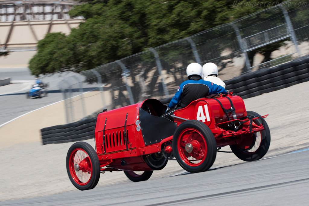 Fiat S74 - Chassis: 1 - Driver: George Wingard  - 2011 Monterey Motorsports Reunion