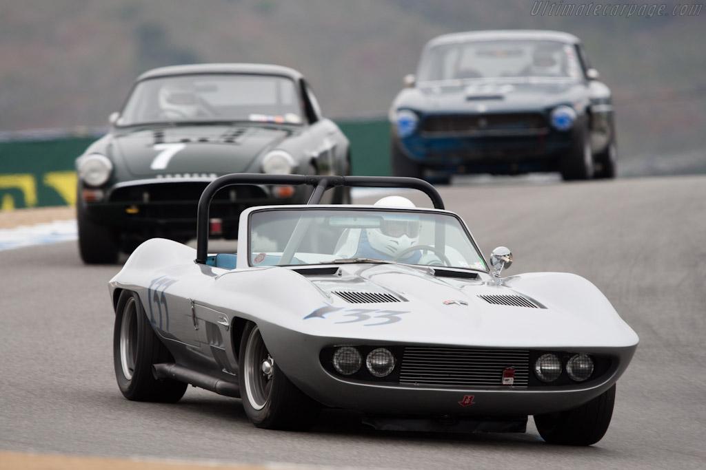 Fiberfab Stingray Special    - 2011 Monterey Motorsports Reunion