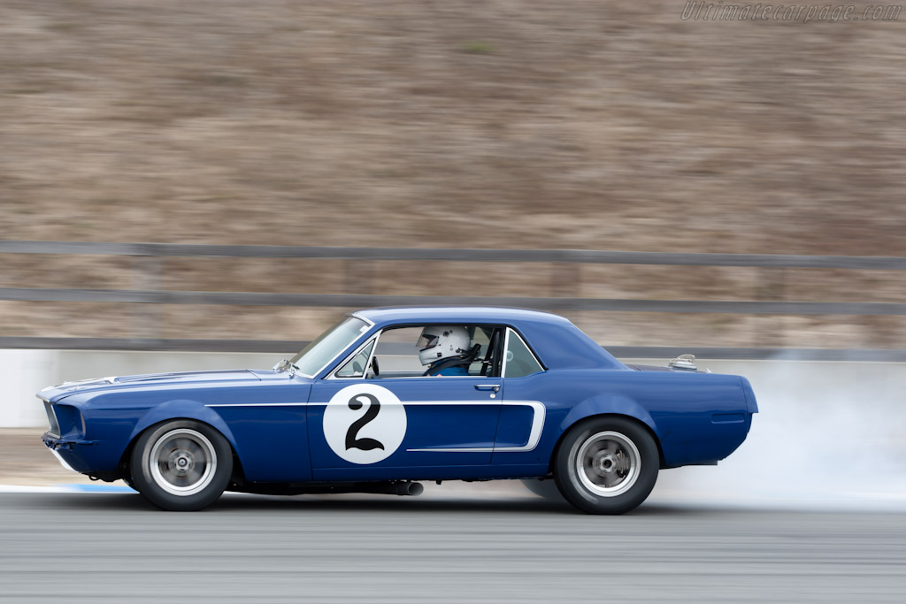 Ford Mustang   - 2011 Monterey Motorsports Reunion