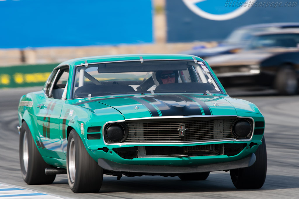 Ford Mustang Boss 302   - 2011 Monterey Motorsports Reunion