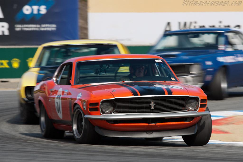 Ford Mustang Boss 302    - 2011 Monterey Motorsports Reunion