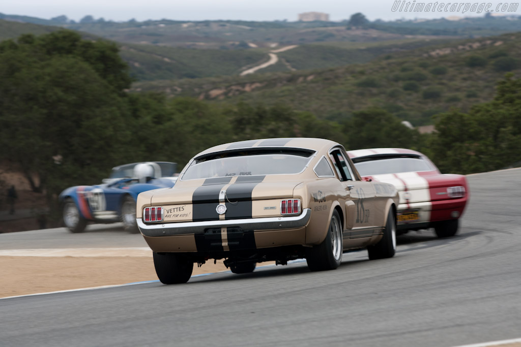 Ford Shelby Mustang GT350    - 2011 Monterey Motorsports Reunion