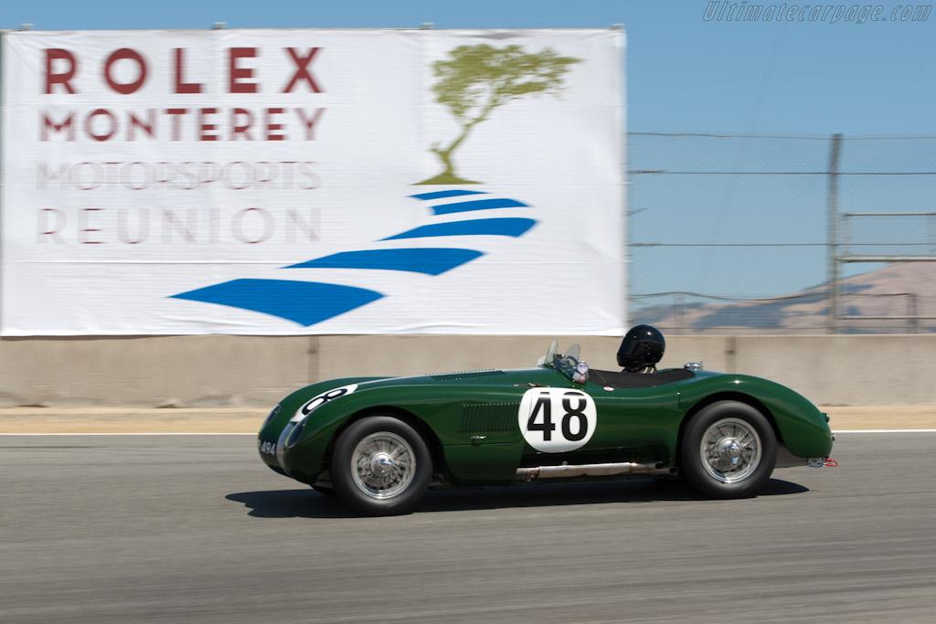 Jaguar C-Type    - 2011 Monterey Motorsports Reunion