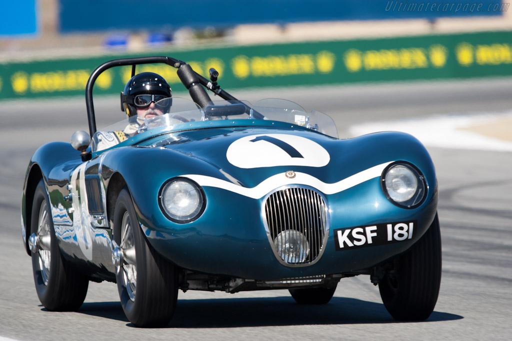 Jaguar C-Type - Chassis: XKC 041   - 2011 Monterey Motorsports Reunion