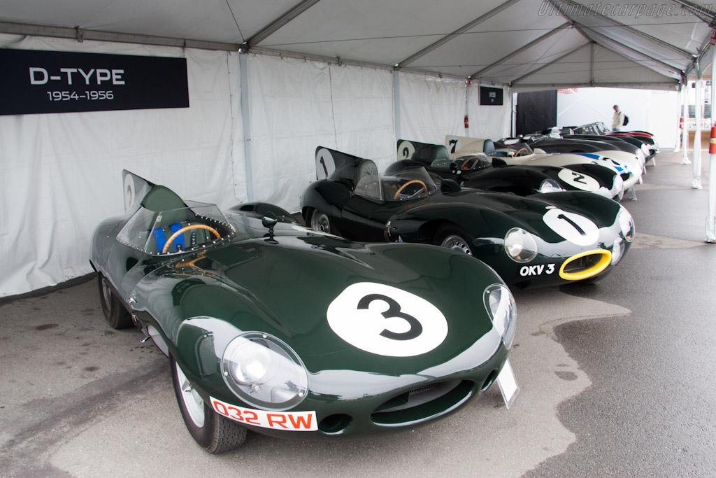 Jaguar D-Types - Chassis: XKD 604   - 2011 Monterey Motorsports Reunion