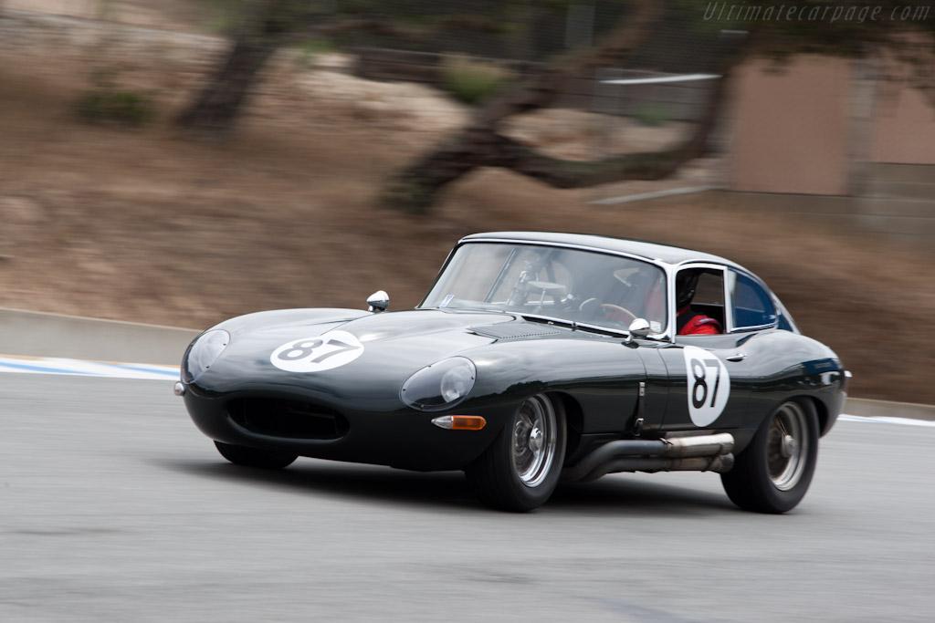 Jaguar E-Type    - 2011 Monterey Motorsports Reunion