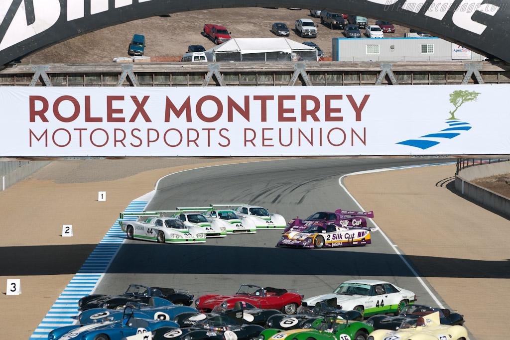 Jaguar Shoot    - 2011 Monterey Motorsports Reunion