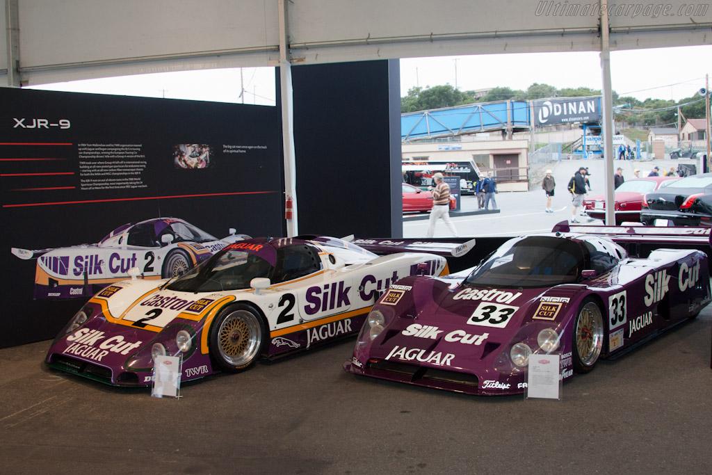 Jaguar XJR-9 and XJR-12 - Chassis: J12-C-488   - 2011 Monterey Motorsports Reunion