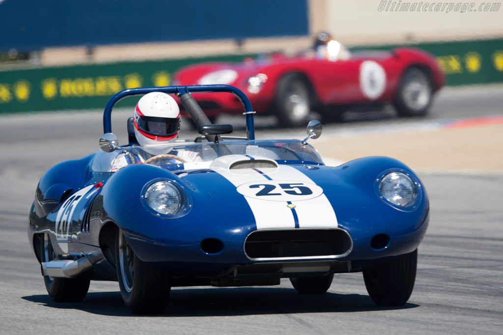 Lister Costin - Chassis: BHL 132   - 2011 Monterey Motorsports Reunion
