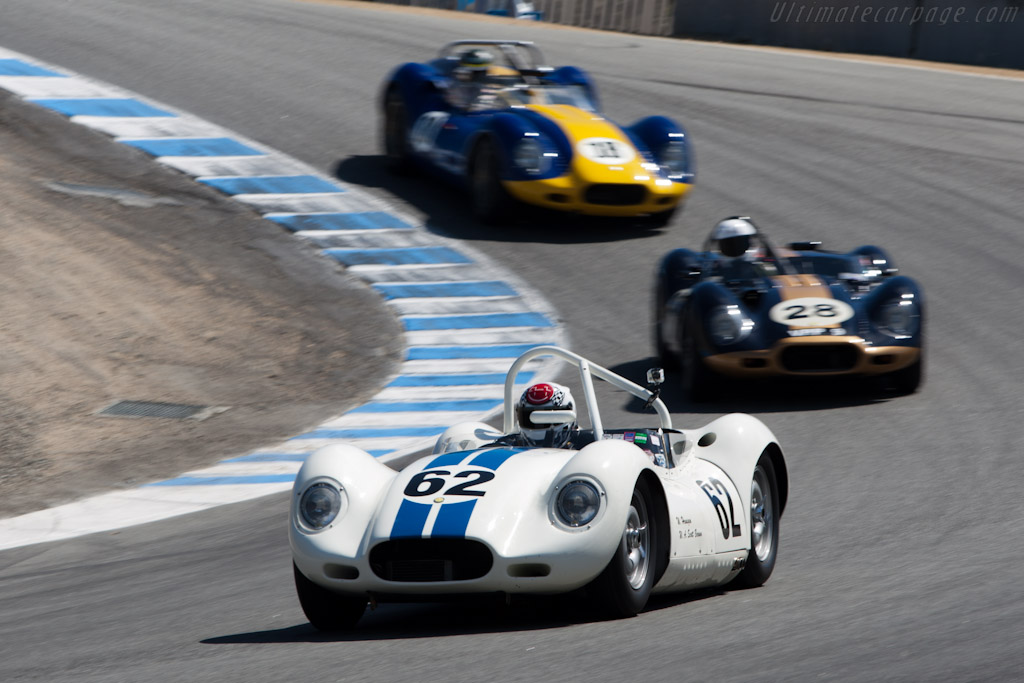 Lister Knobbly - Chassis: BHL 102   - 2011 Monterey Motorsports Reunion