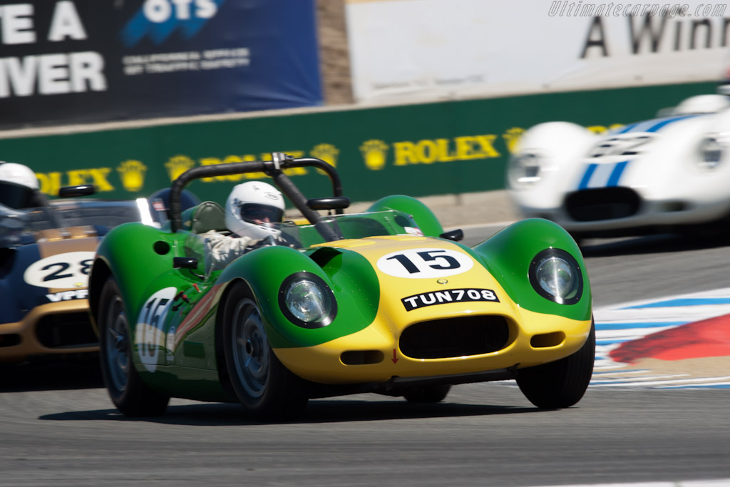 Lister Knobbly    - 2011 Monterey Motorsports Reunion