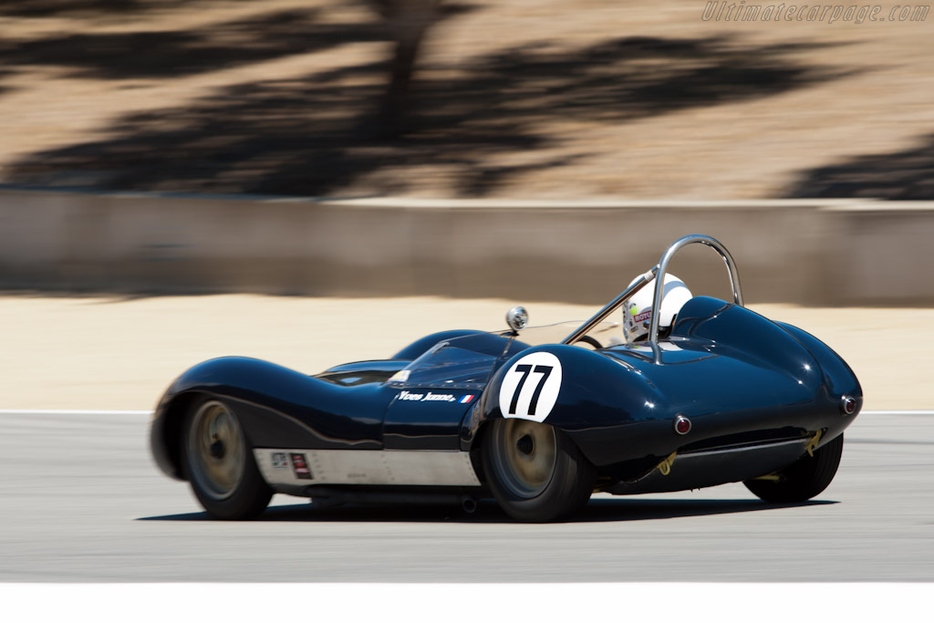 Lola Mk 1 Climax    - 2011 Monterey Motorsports Reunion