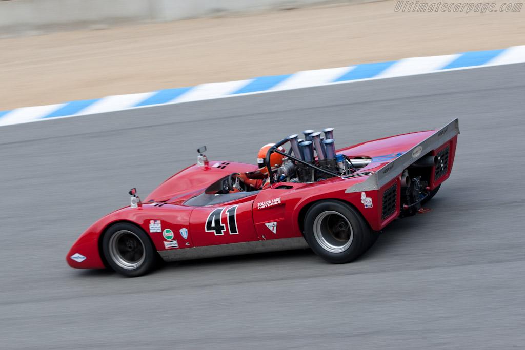 Lola T163 - Chassis: SL163/20 - Driver: Ed Zwart  - 2011 Monterey Motorsports Reunion