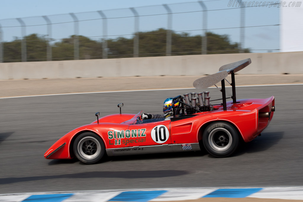 Lola T163 - Chassis: SL163/16 - Driver: Don Bell  - 2011 Monterey Motorsports Reunion