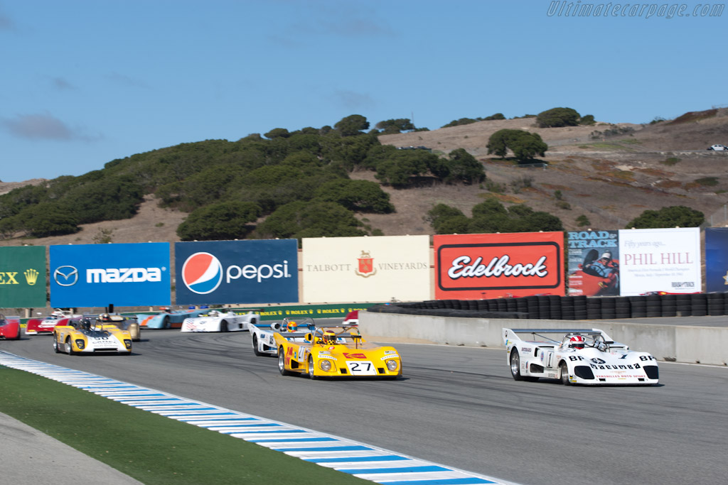 Lola T286 - Chassis: HU7  - 2011 Monterey Motorsports Reunion