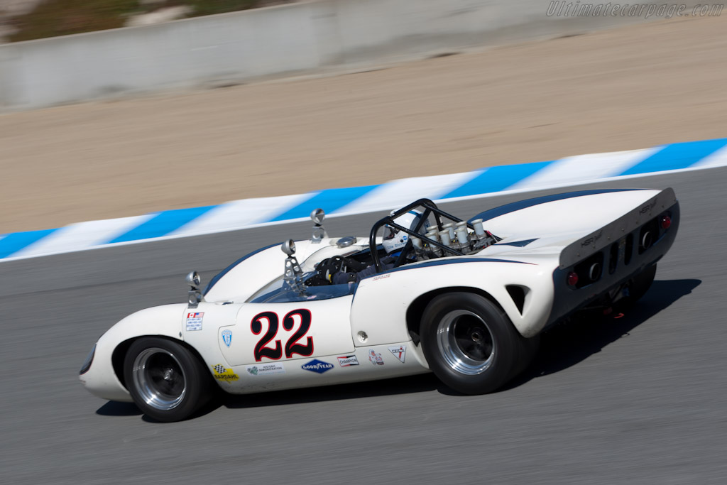 Lola T70 Mk II - Chassis: SL71/33   - 2011 Monterey Motorsports Reunion
