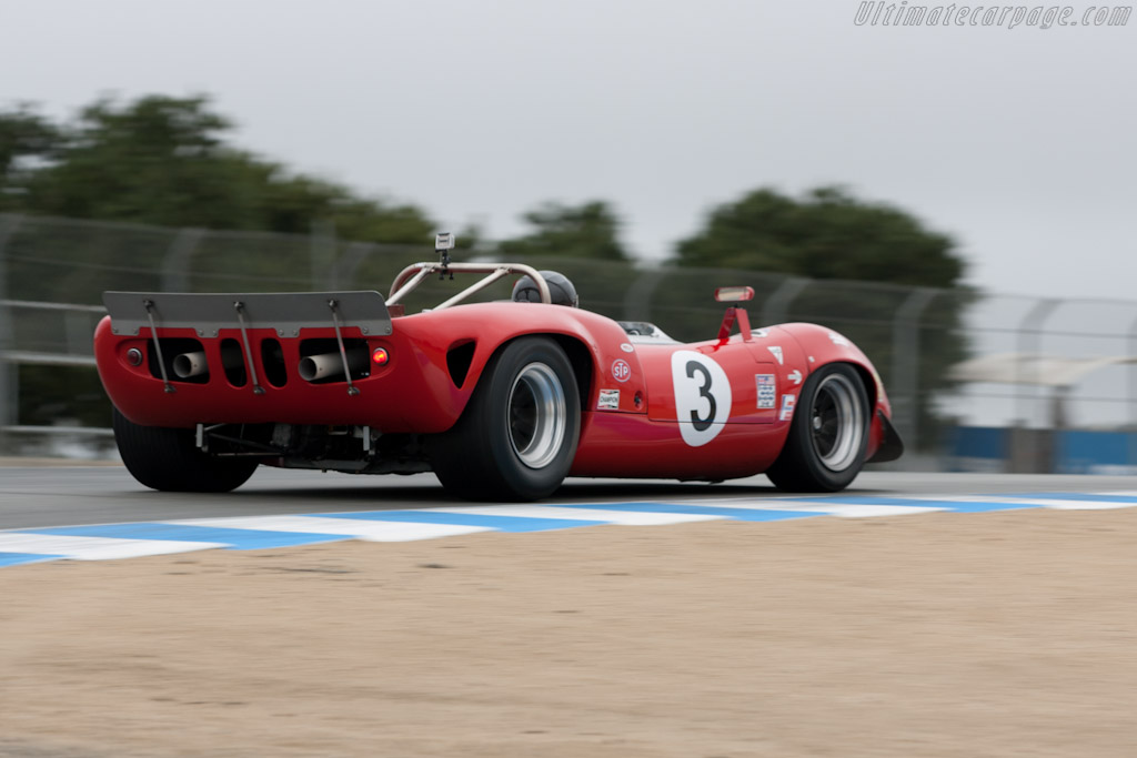 Lola T70 Mk II - Chassis: SL71/17   - 2011 Monterey Motorsports Reunion