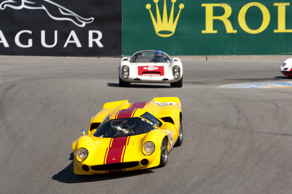 Lola T70 Mk III Coupe - Chassis: SL73/116   - 2011 Monterey Motorsports Reunion