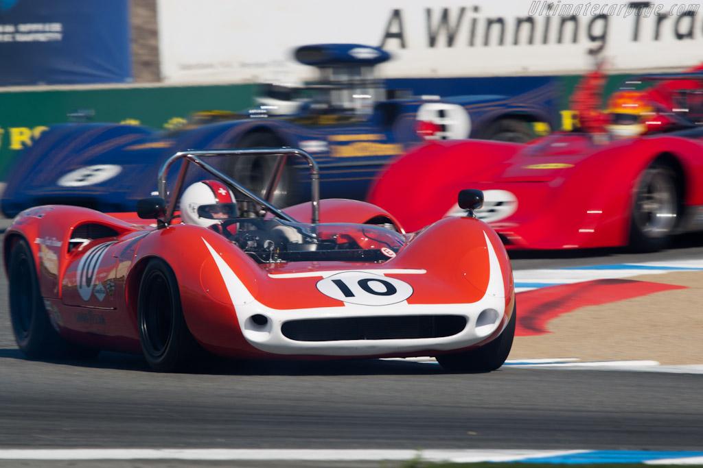 Lola T70 Mk IIIB - Chassis: SL73/129   - 2011 Monterey Motorsports Reunion