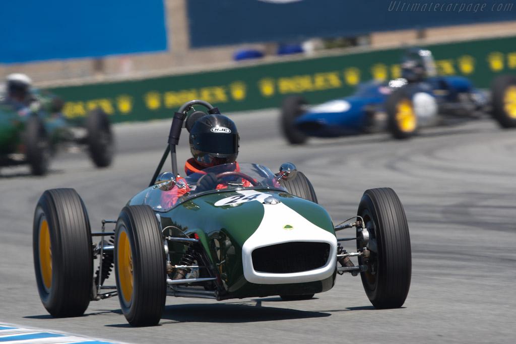 Lotus 18    - 2011 Monterey Motorsports Reunion