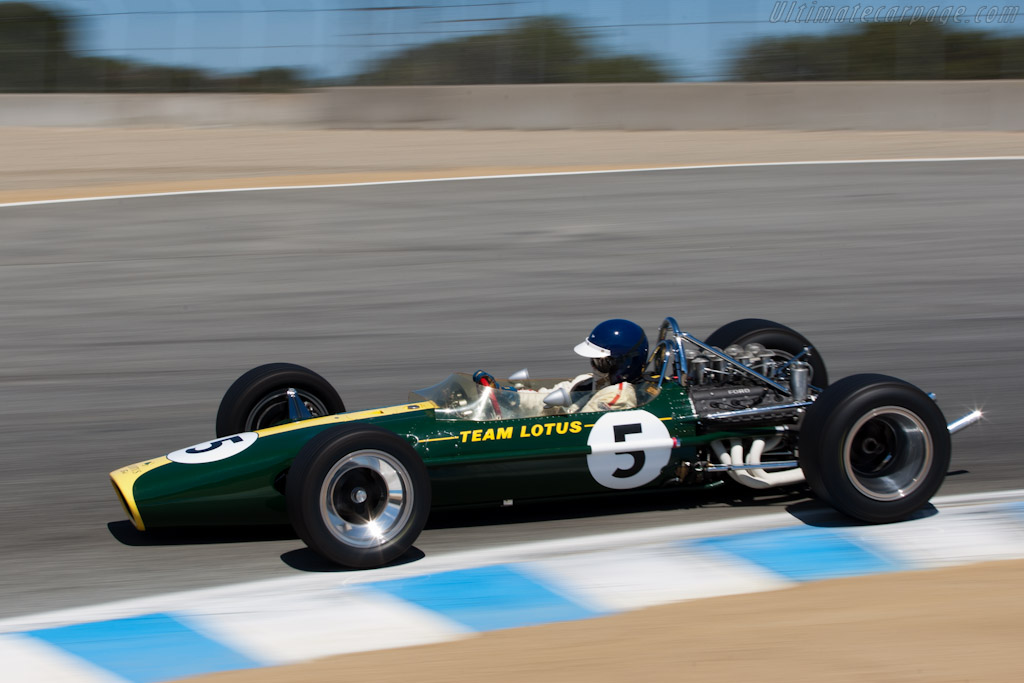 Lotus 49 - Chassis: R2  - 2011 Monterey Motorsports Reunion