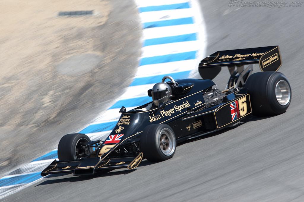 Lotus 77 - Chassis: JPS14   - 2011 Monterey Motorsports Reunion