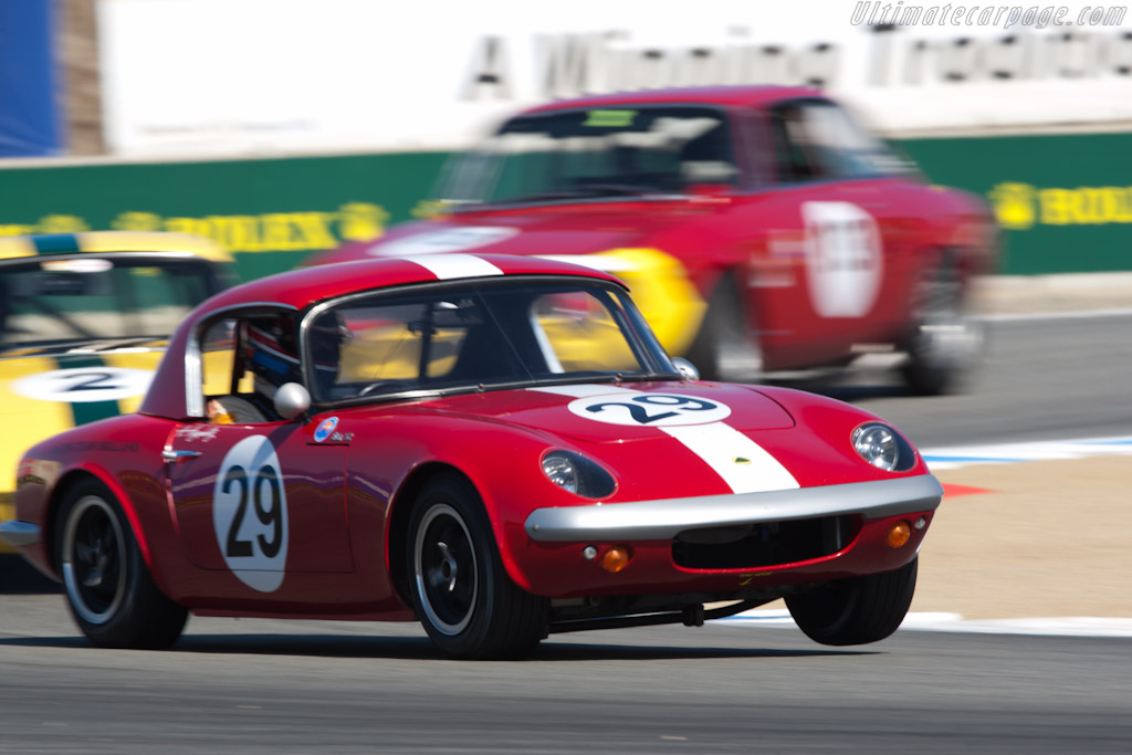 Lotus Elan 26R - Chassis: 26-S2-29   - 2011 Monterey Motorsports Reunion