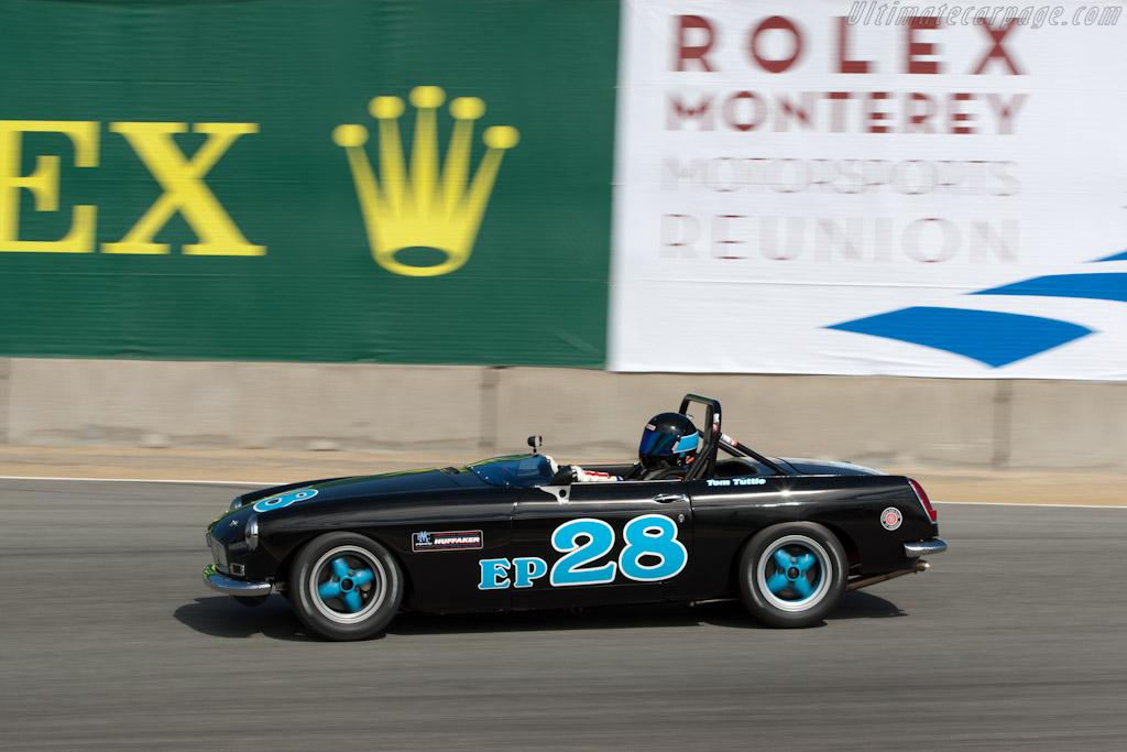 MGB    - 2011 Monterey Motorsports Reunion