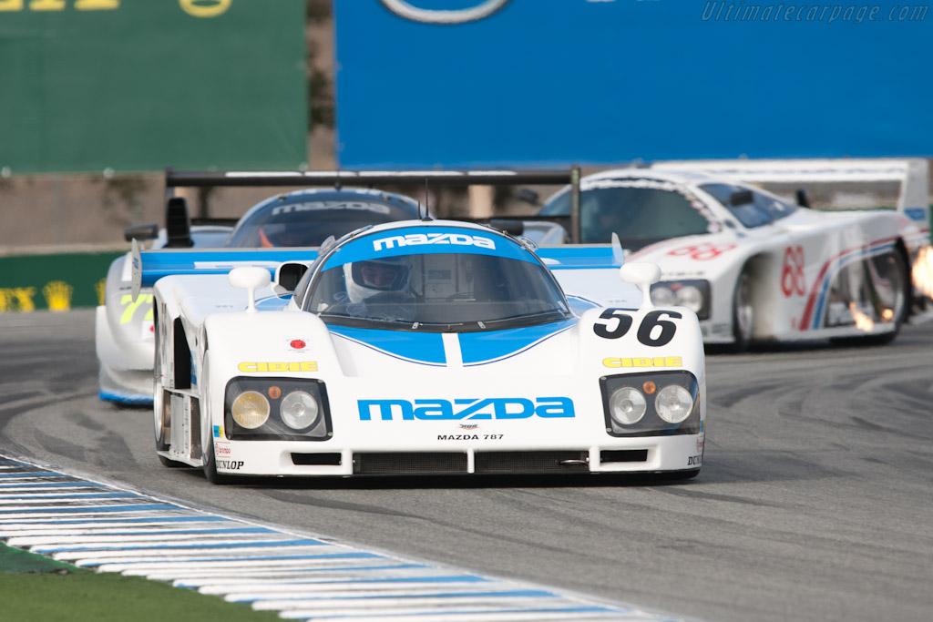 Mazda 787 - Chassis: 787 - 002  - 2011 Monterey Motorsports Reunion
