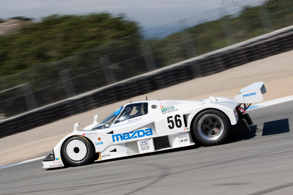 Mazda 787 - Chassis: 787 - 002   - 2011 Monterey Motorsports Reunion