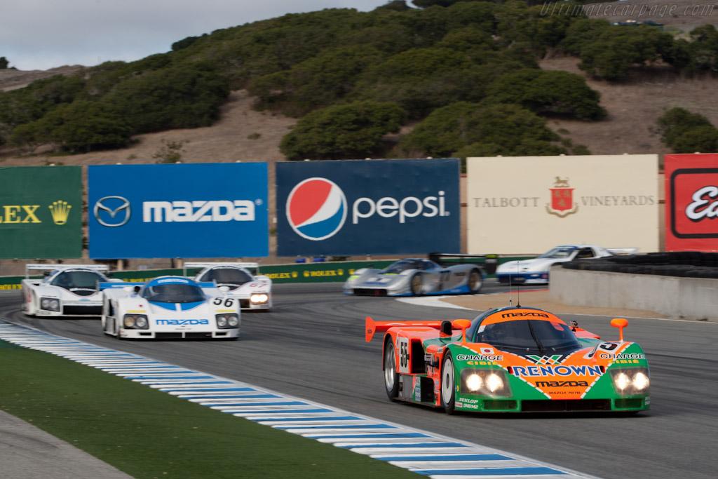 Mazda 787B - Chassis: 787B - 002   - 2011 Monterey Motorsports Reunion