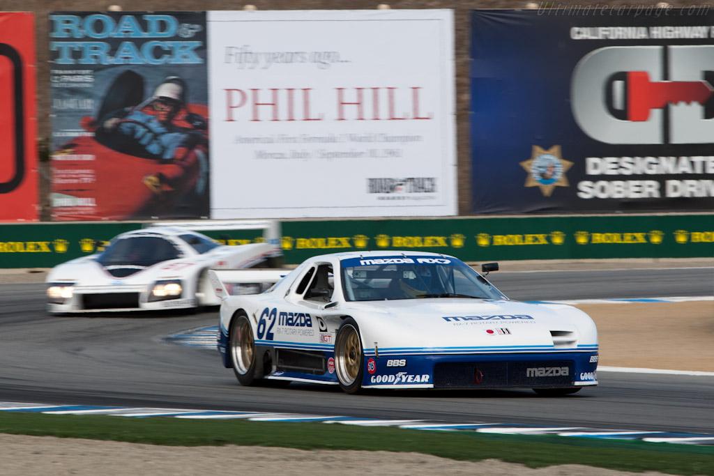 Mazda RX-7 GTO - Chassis: GTO 001 - Driver: Jeremy Barnes  - 2011 Monterey Motorsports Reunion