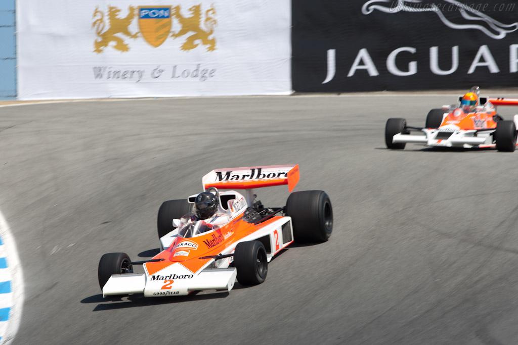 McLaren M23 - Chassis: M23-12   - 2011 Monterey Motorsports Reunion