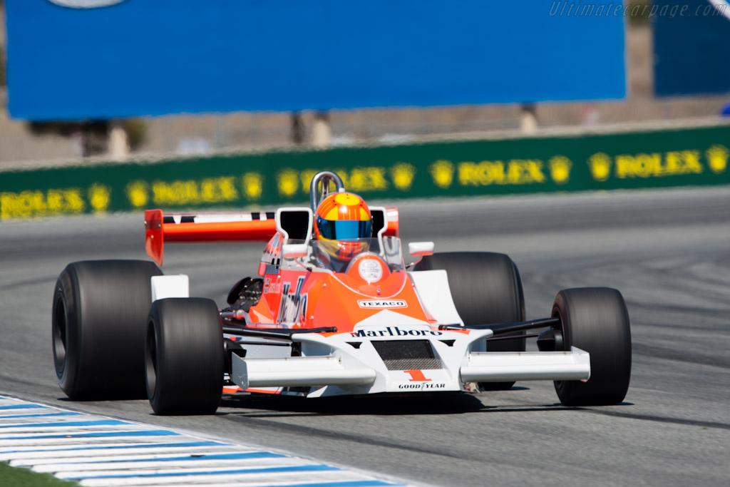 McLaren M26 - Chassis: M26-3   - 2011 Monterey Motorsports Reunion
