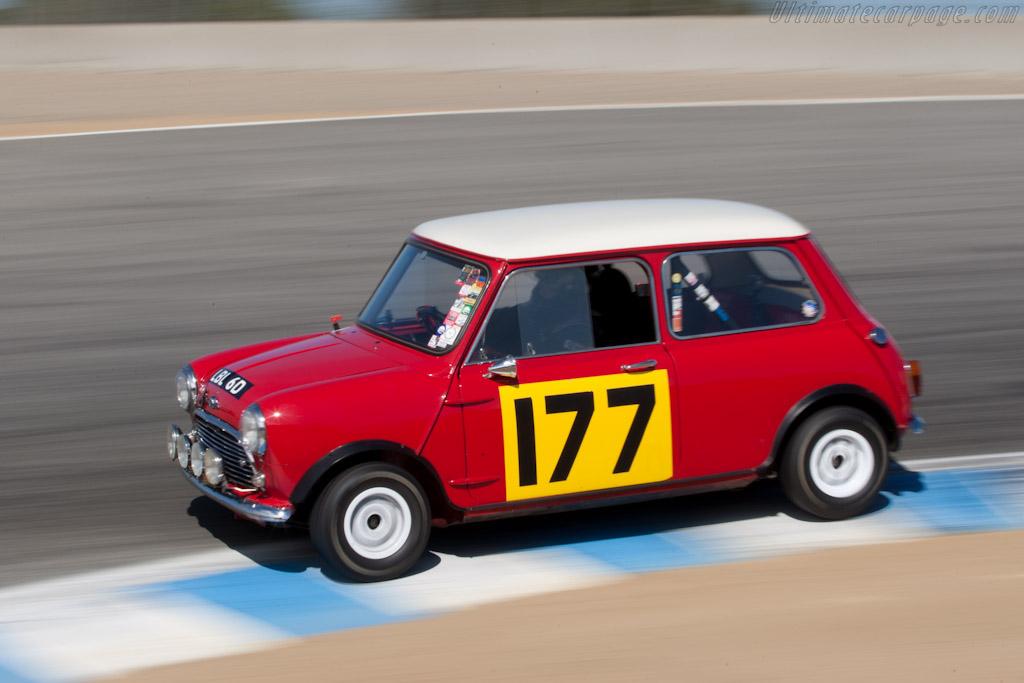 Mini Cooper S    - 2011 Monterey Motorsports Reunion