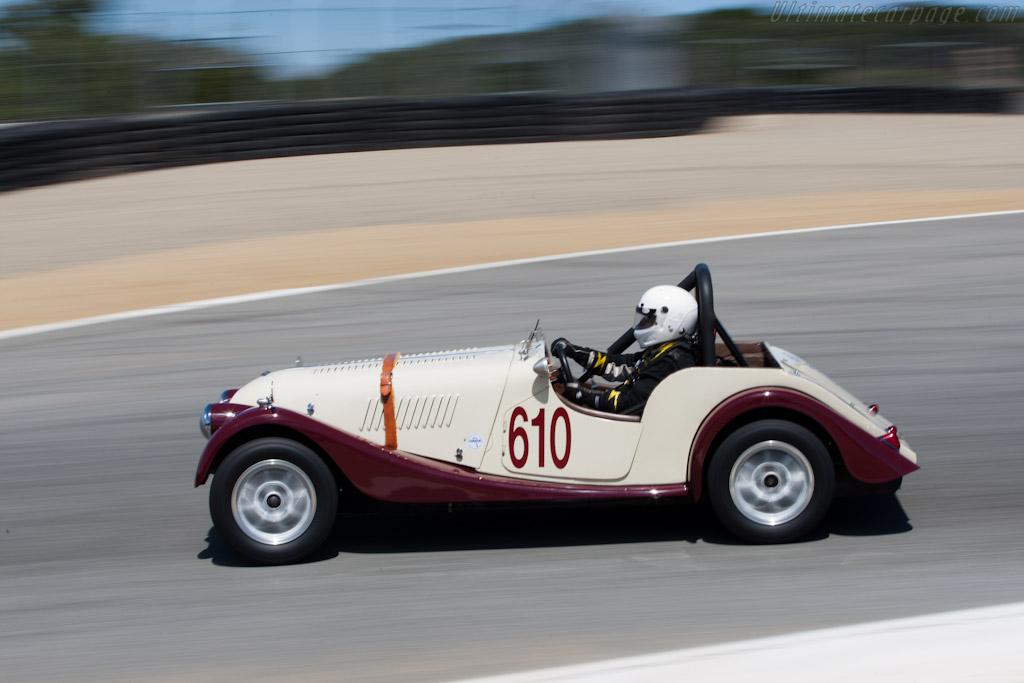 Morgan +4   - 2011 Monterey Motorsports Reunion