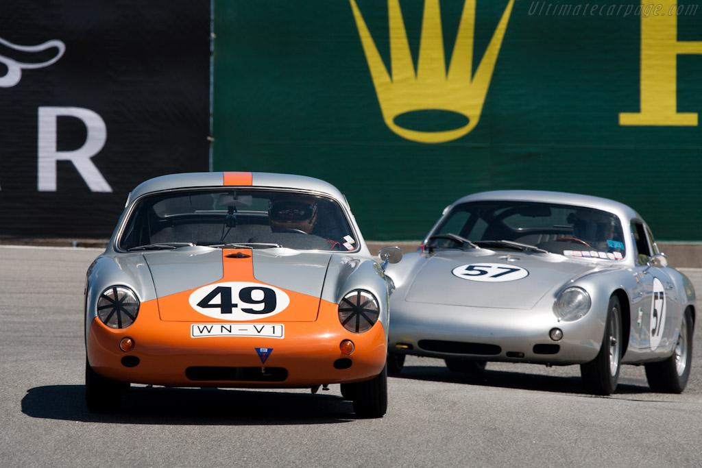 Porsche 356 Abarth GTL - Chassis: 1016  - 2011 Monterey Motorsports Reunion
