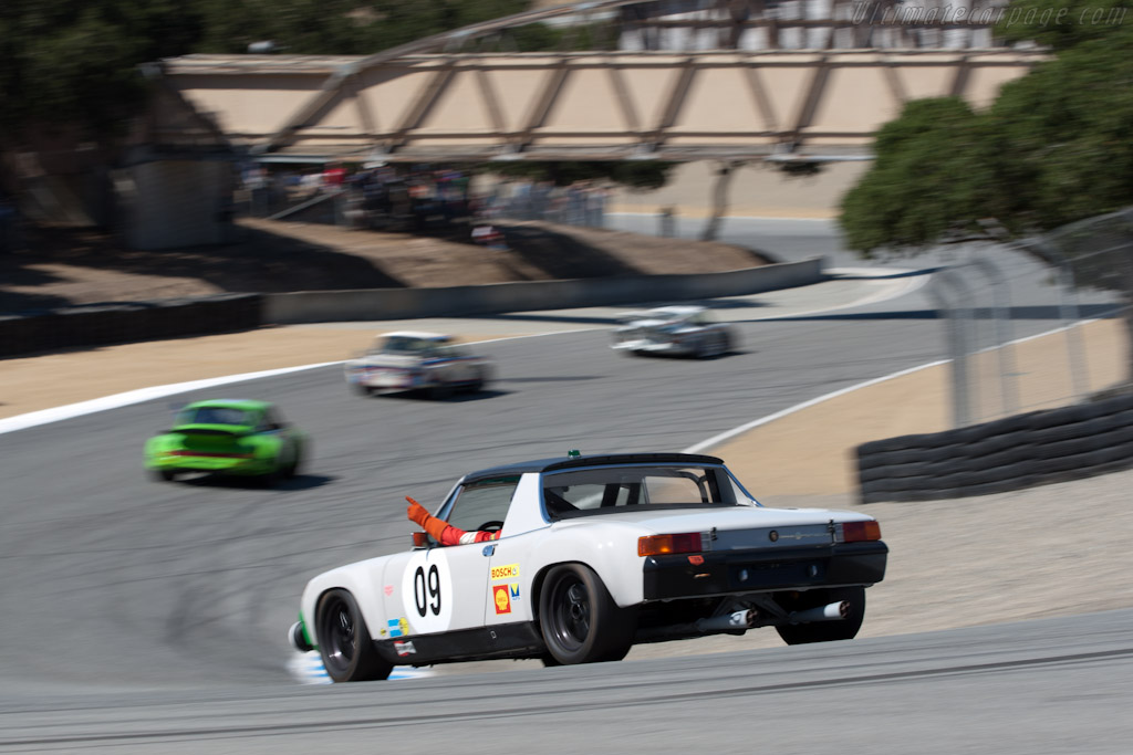 Porsche 914/6 GT    - 2011 Monterey Motorsports Reunion