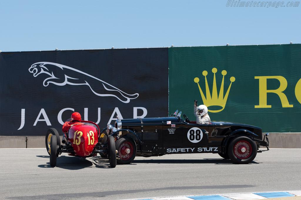 Stutz Blackhawk    - 2011 Monterey Motorsports Reunion
