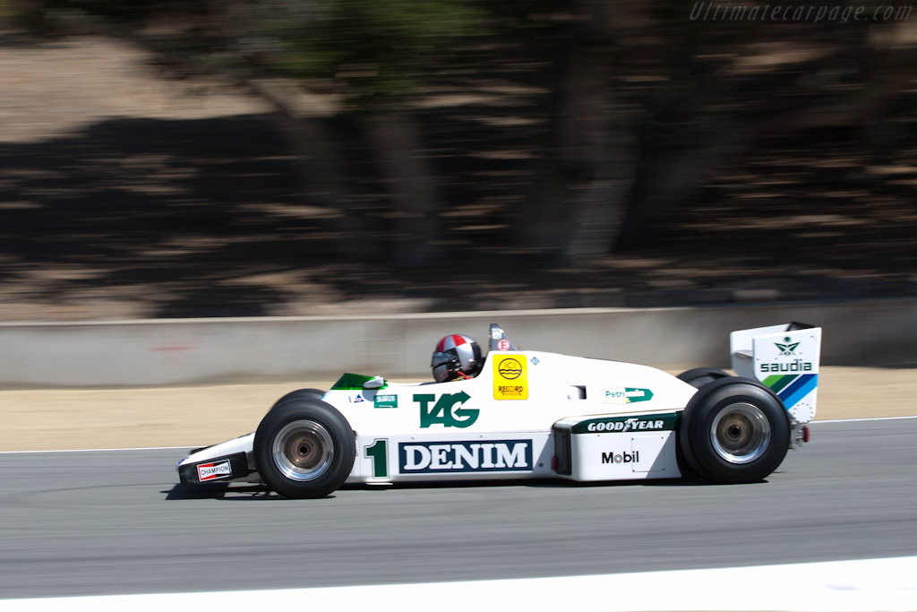 Williams FW08C Cosworth - Chassis: FW08-07   - 2011 Monterey Motorsports Reunion