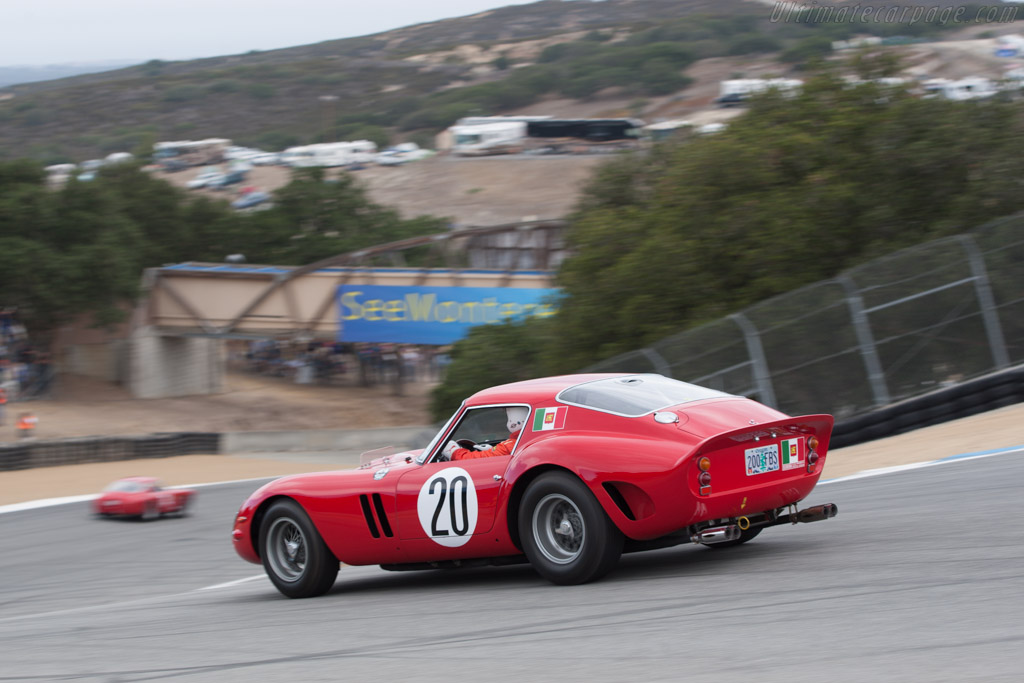 ferrari 250 gto chassis 4757gt driver tom price 2013 monterey motorsports reunion. Black Bedroom Furniture Sets. Home Design Ideas
