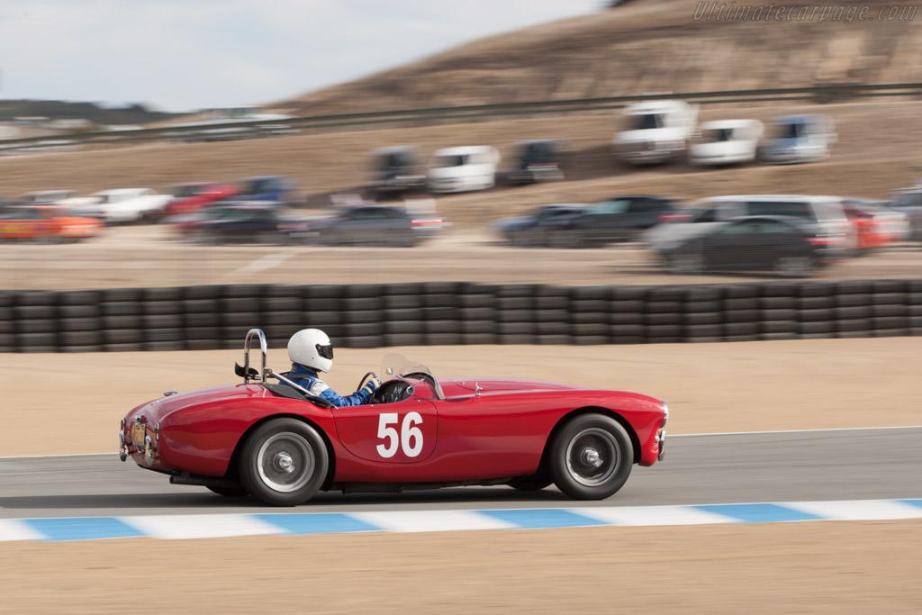 AC Ace Bristol - Chassis: BEX229 - Driver: Jerry Rosenstock  - 2013 Monterey Motorsports Reunion