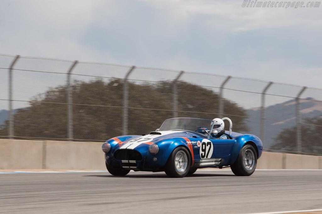 AC Shelby Cobra - Chassis: CSX2010 - Driver: Steve Park  - 2013 Monterey Motorsports Reunion