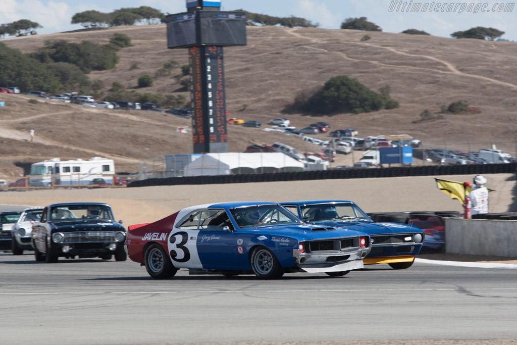 AMC Javelin - Chassis: TA-026 - Driver: Craig Jackson  - 2013 Monterey Motorsports Reunion